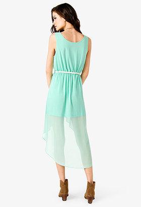 Forever 21 Maxi Dress w/ Braided Belt
