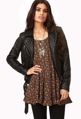 Forever 21 Moto Chic Faux Leather Jacket