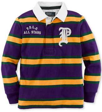 Ralph Lauren Shirt, Little Boys Long-Sleeve Rugby