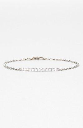 Nordstrom Bony Levy 'Stick' Pavé Diamond Bar Bracelet