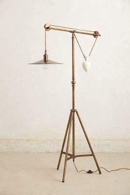 Anthropologie Counterbalance Floor Lamp