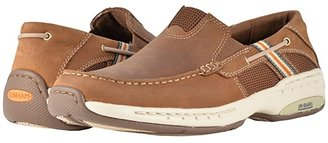 Dunham Windward (Brown) Men's Slip on Shoes