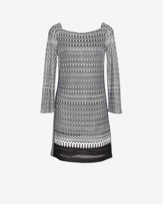 Missoni Knit 7/8 Length Sleeve Dress