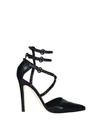Alice + Olivia Drixa Light Distressed Leather Heel