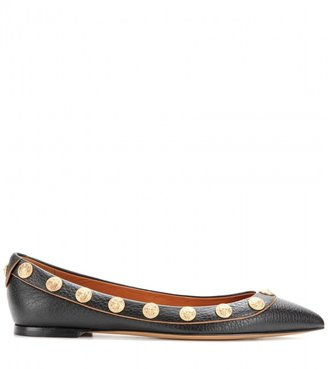 Valentino Gryphon Studs leather ballerinas