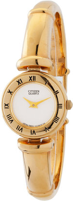 American Apparel Vintage Citizen Gold Roman Numerals Ladies' Metal Band Watch