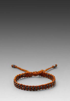 M.Cohen Oxidized Bead Bracelet
