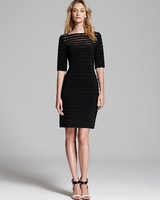 Adrianna Papell Illusion Dress $168 thestylecure.com