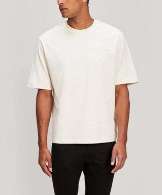 Ami Oversized Embroidered Logo T-Shirt