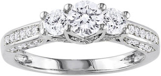 JCPenney FINE JEWELRY 1 CT. T.W. Three-Stone Diamond Engagement Ring