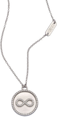 Lafonn Round Infinity Pendant Necklace
