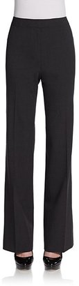 Lafayette 148 New York Classic Stretch Wool Trousers