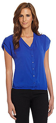 Bianca Nygard Roll-Sleeve Top