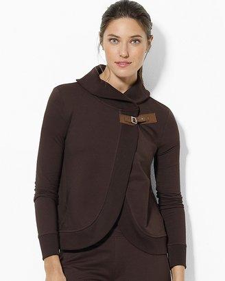 Lauren Ralph Lauren Cropped Buckled Jacket