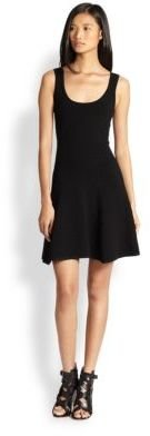Torn By Ronny Kobo Luciana Fit-&-Flare Dress