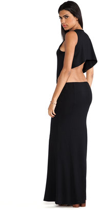 Boulee Cruz Open Back Maxi Dress
