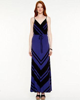 Le Château Jersey V-Neck Maxi Dress