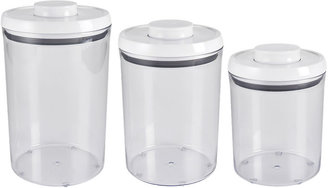 OXO Good Grips 3-pc. Round Canister Set