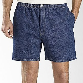 JCPenney Towncraft® Elastic-Waist Shorts
