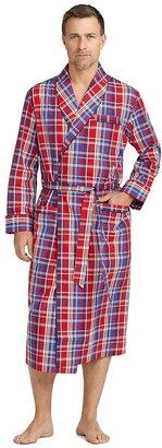 Brooks Brothers Multi Large Plaid Robe