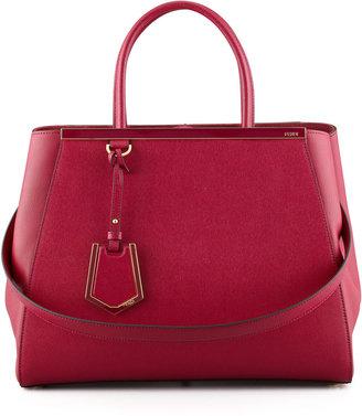 Fendi 2Jours Tote Bag, Cherry
