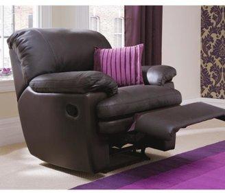 Avanti Leather Recliner Armchair