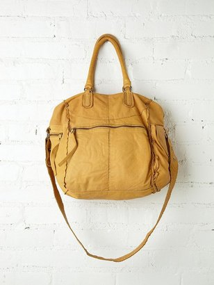 Free People Lissan Harper Leather Cargo Tote