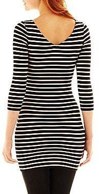 JCPenney Decree® Striped Tunic