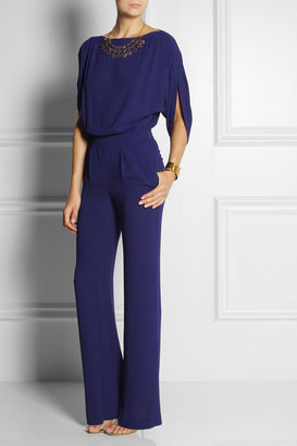 Diane von Furstenberg Lucy crepe jumpsuit