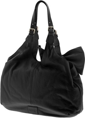 RED Valentino Leather Bow Tote