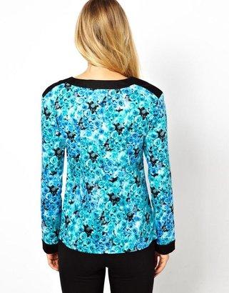 Big Chill Lavish Alice Sweatshirt In Floral Print