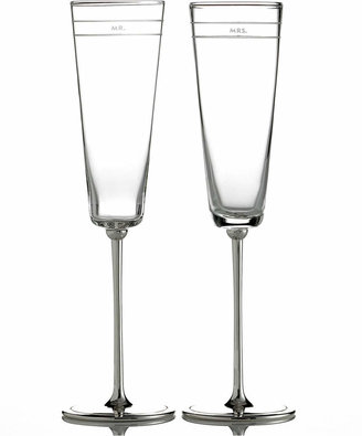 Kate Spade Set of 2 Darling Point Toasting Flutes
