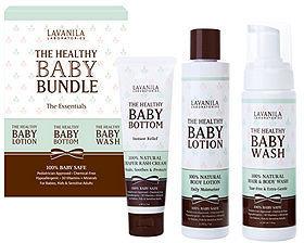 LAVANILA Laboratories The Healthy Baby Bundle - Wash, Lotion, And Bottom 1 ea