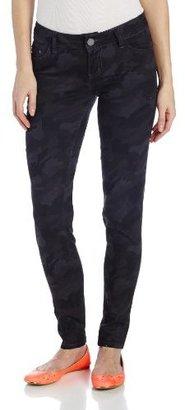 YMI Jeanswear Juniors Camo Skinny Pant