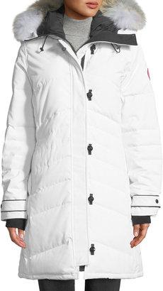 Canada Goose Lorette Fur-Hood Down Parka Coat
