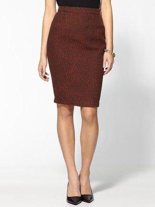 Miss Me Tweed Pencil Skirt
