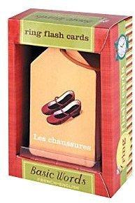 Mudpuppy French/English Ring Flash Cards