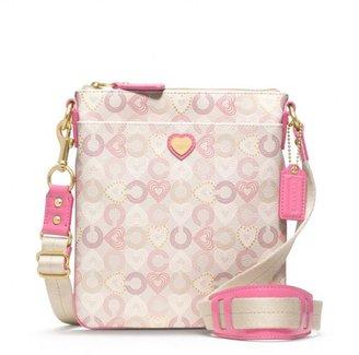 Waverly Coated Canvas Hearts Swingpack