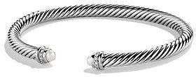 David Yurman Cable Classics Bracelet with Pearls & Diamonds