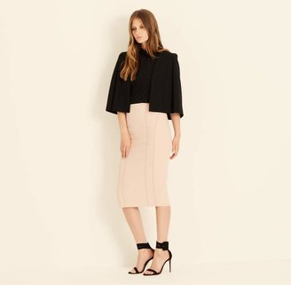 Amanda Wakeley Midtown Black Tailored Cape