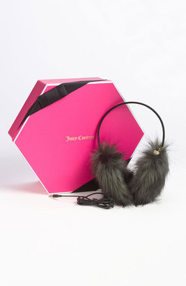 Juicy Couture Faux Fur Headphone Earmuffs