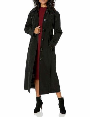 London Fog Women's Long Single Breasted Trench Coat
