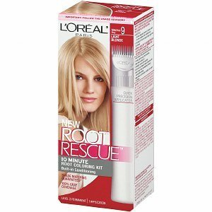 L'Oreal Root Rescue 10 Minute Root Coloring Kit, Light Blonde 9