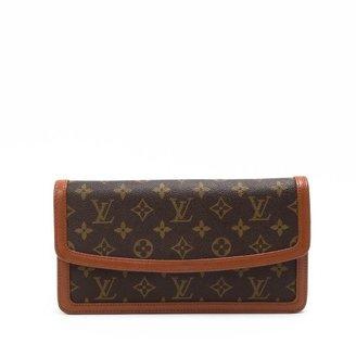 Louis Vuitton Pre-owned: brown monogram canvas 'Pochette Dame' clutch
