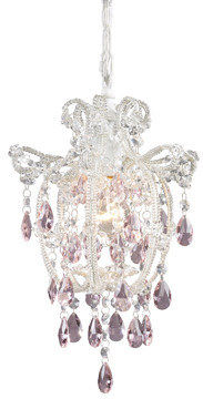 Bed Bath & Beyond Sterling Industries Elise 1-Light Chandelier