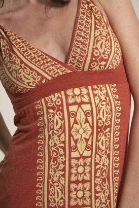Testament Raj Strap Maxi Dress in Orange