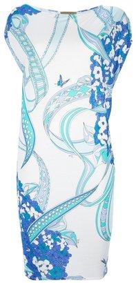 Emilio Pucci floral print t-shirt dress