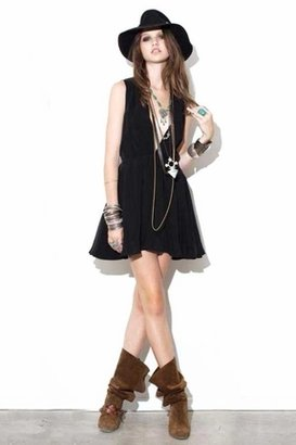 For Love & Lemons Little Lover Dress in Black $199 thestylecure.com