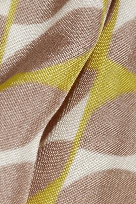 Marni Printed silk top