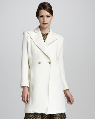 Theyskens' Theory Macbee Double-Breasted Coat
